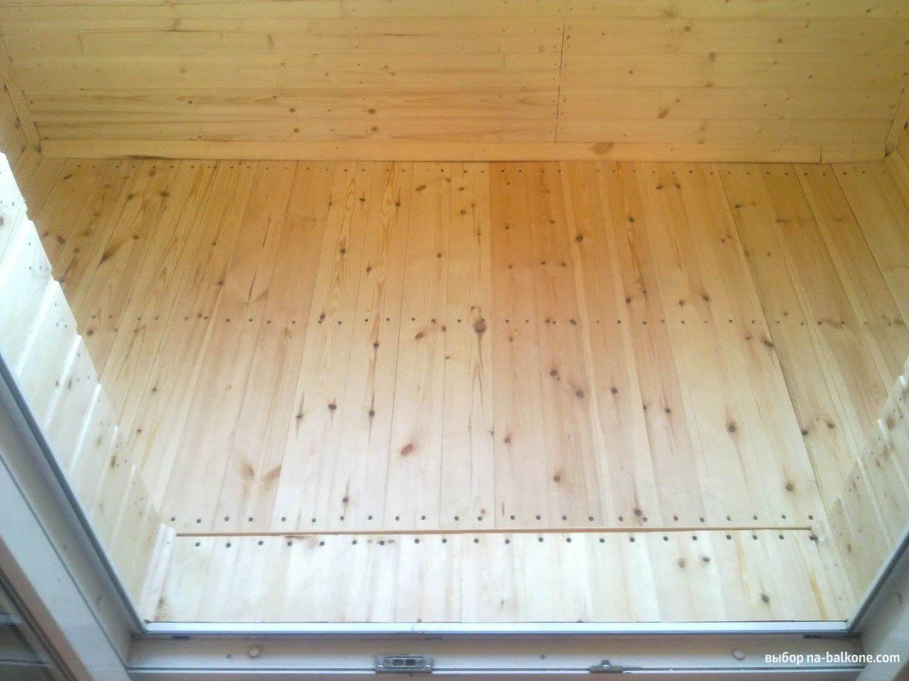 Как правильно утеплить балкон изнутри (6 этапов с фото).
