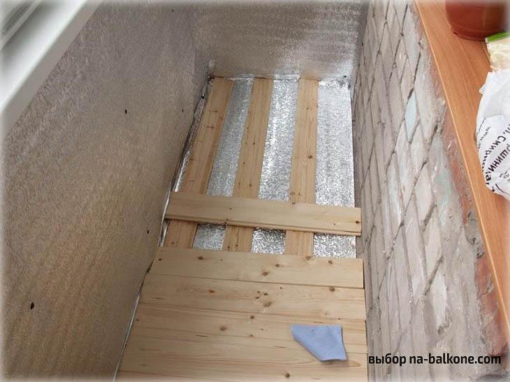 Самостоятельное утепление балкона пеноплексом. Инструкция + 11 фото