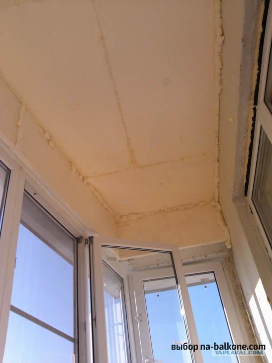 Утепляем балкон изнутри правильно. 6 этапов работ
