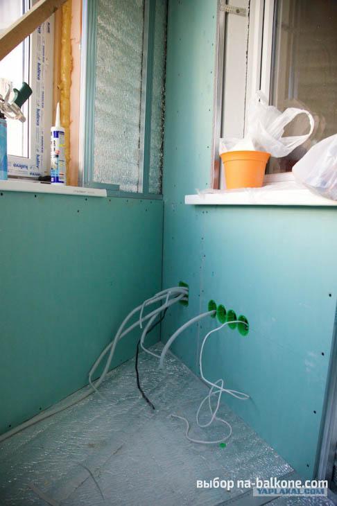 Как правильно утеплить балкон. Материалы, инструменты и последовательность работ