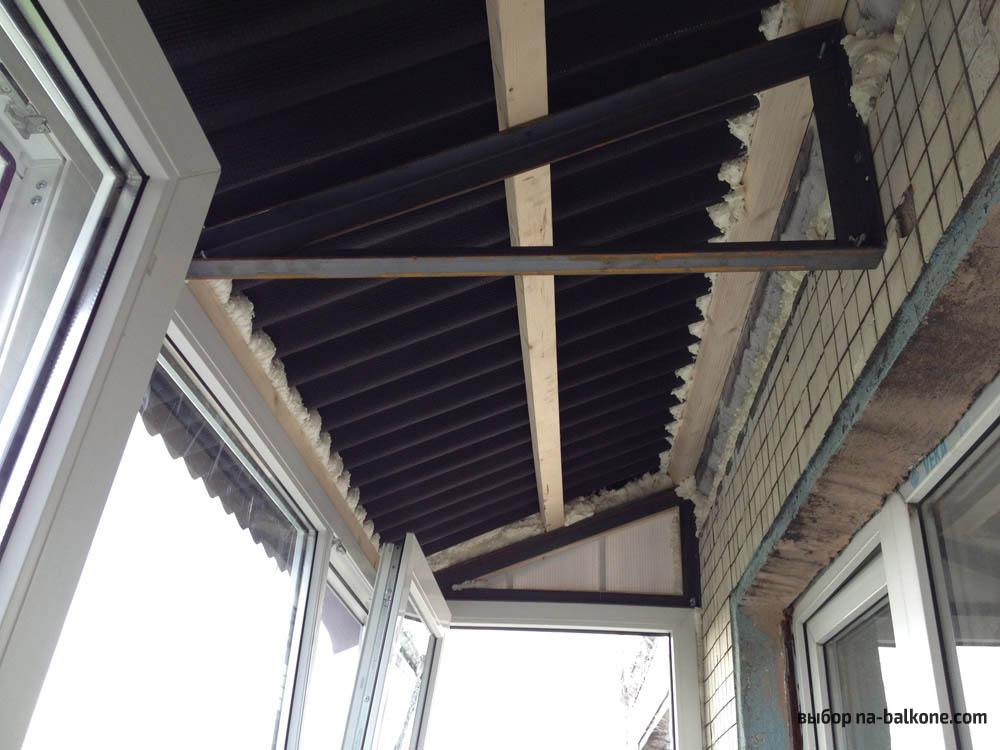 Чем утеплить балкон внутри - лучшие материалы.