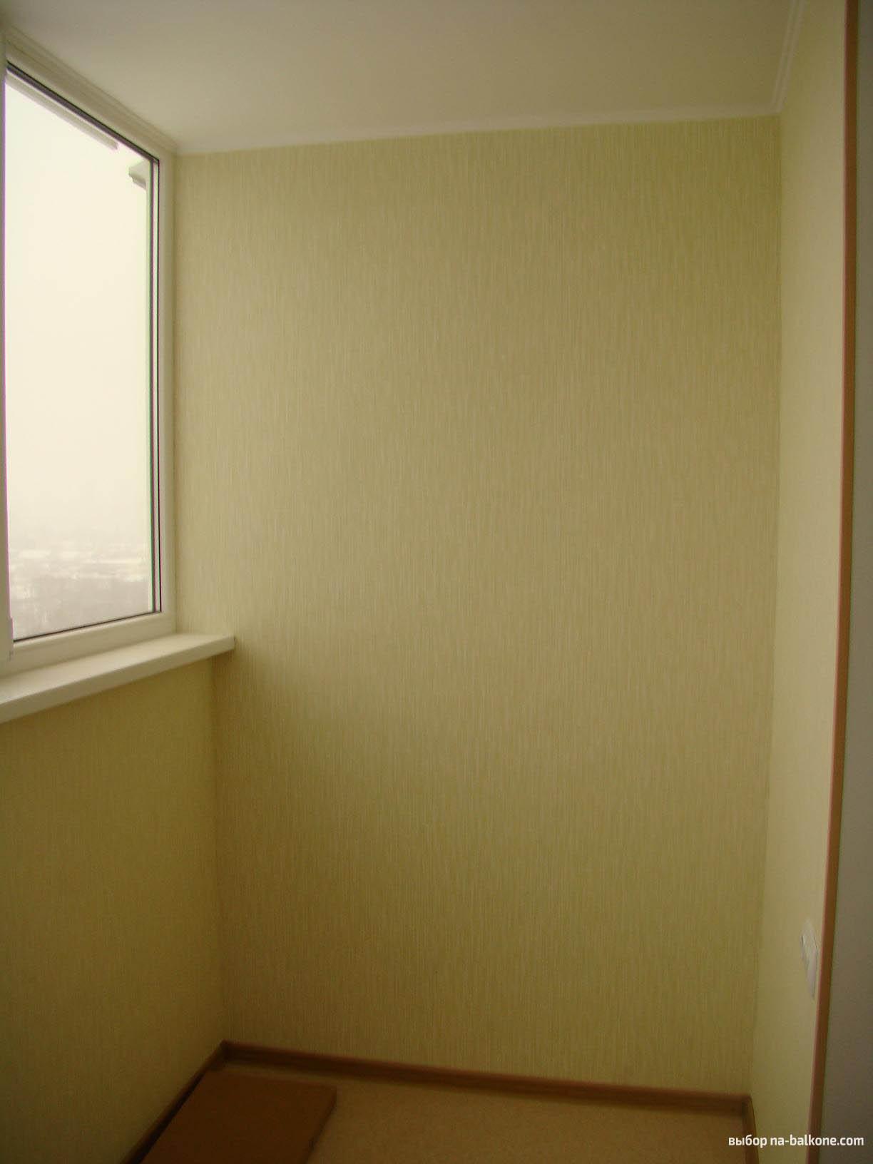 """Отделка балконов и лоджий гипсокартоном компания """"окна борна."""
