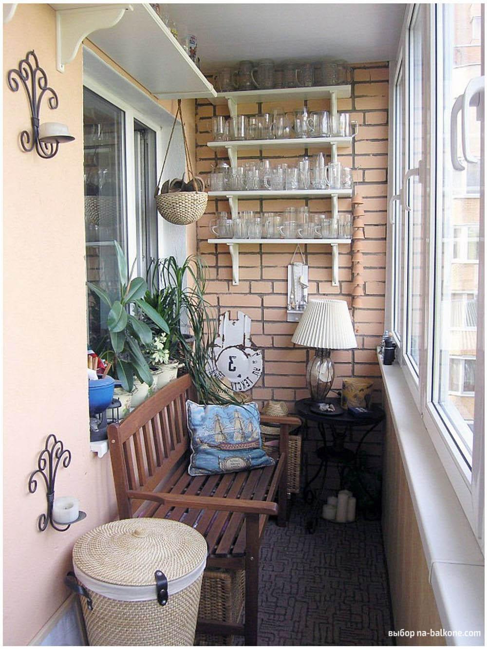 Как обустроить балкон inside идеи для маленького балкона 73 .