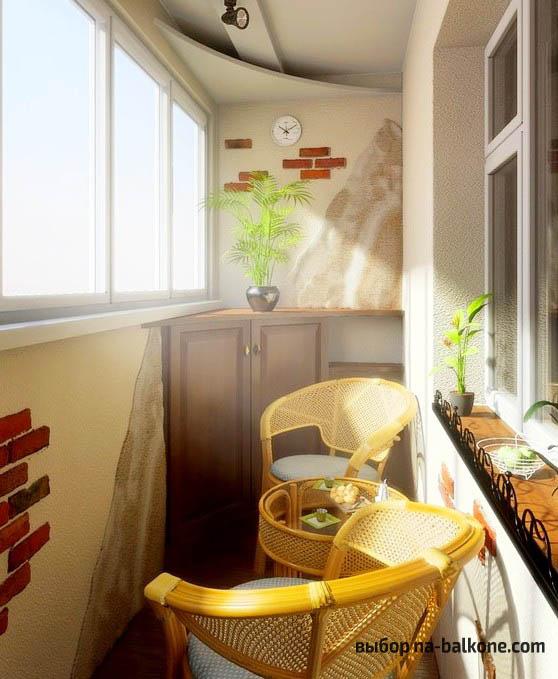 Отделка балкона в хрущевке - интересные идеи (30 фото).
