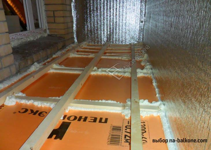 5 лучших материалов для утепления балкона. Особенности и отличия