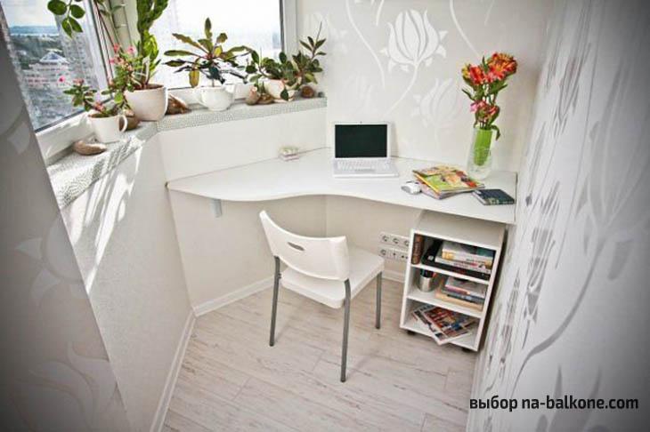 20 интересных идей кабинета на балконе. Дизайн и оформление