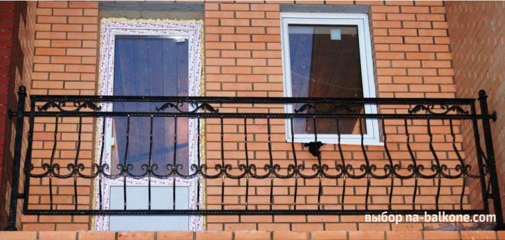 40 идей кованых балконов, перил и ограждений