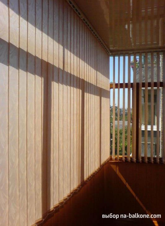 20 вариантов штор для балкона (фото)
