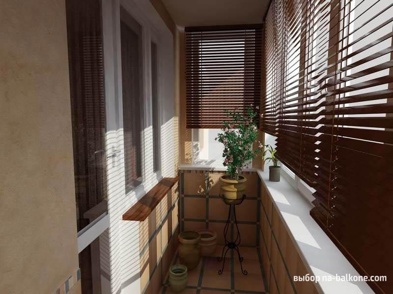 кв фото 3 м балкона дизайн