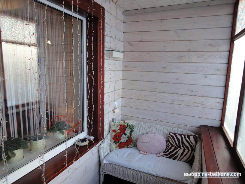 Косметический ремонт балконов.