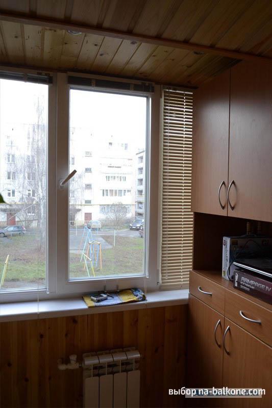 Отделка балкона внутри - 48 фото оформления.