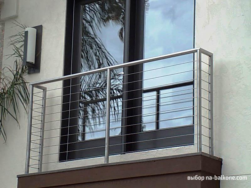 Установка французского балкона.