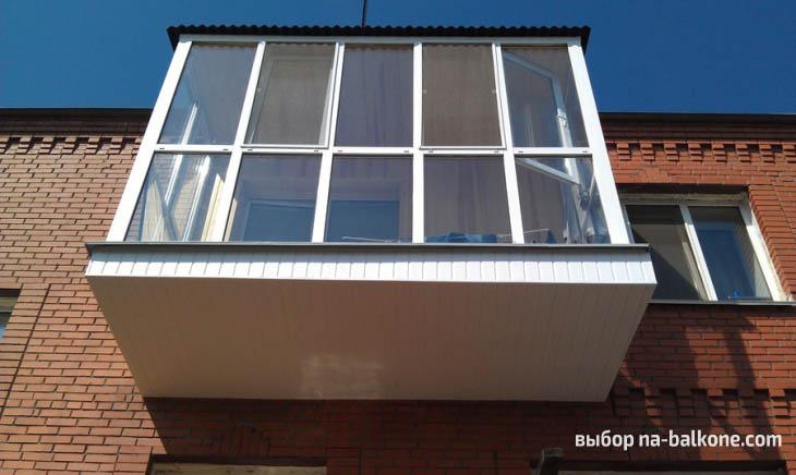 20 фото балконов с панорамным остеклением