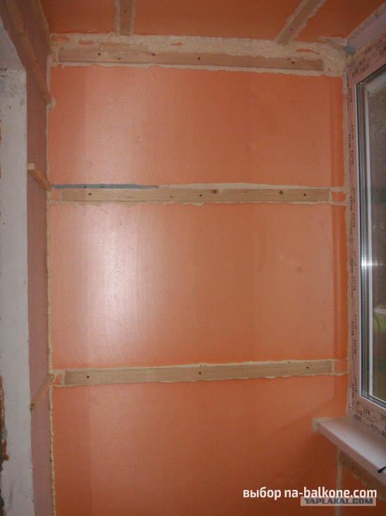 Отделка балкона вагонкой своими руками пошаговая инструкция .