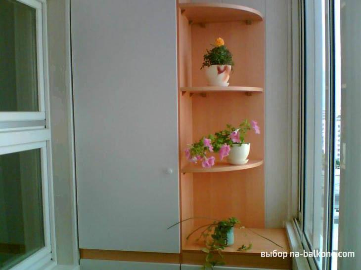 Как красиво сделать шкаф на балконе (26 фото).