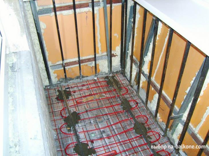 Этапы утепления балконного пола (10 фото)