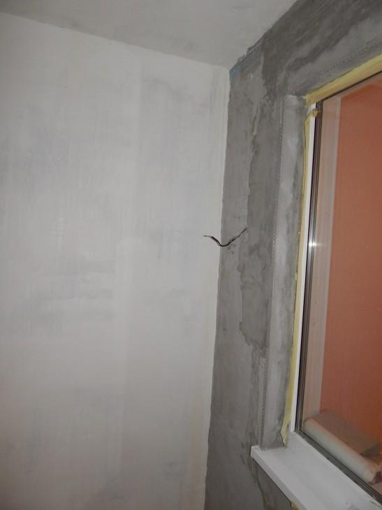 Утепление и отделка старого балкона 3,5 кв.м в белом цвете