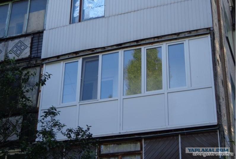 Как сделать балкон в квартире: реальные фото.