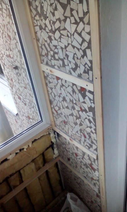 Ремонт и утепление балкона своими руками с ДСП и панелями ПВХ