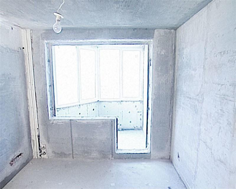 Декорирование окна после демонтажа балконного блока фото..