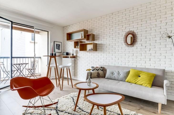 Дизайн квартиры-студии 25 кв.м. с лоджией: правильное зонирование